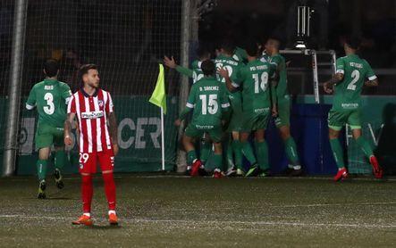 Cornellá 1-0 Atlético: Un Segunda B elimina al líder de la Liga