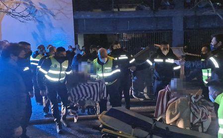 Una fallecida y tres heridos graves en el incendio de una residencia de ancianos en Sevilla