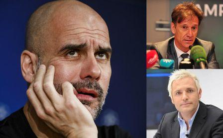 """Guardiola se la devuelve al """"gran Alfonso"""" y a Cañizares por el grupo de Whatsapp."""