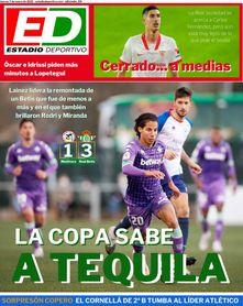 La portada de ESTADIO