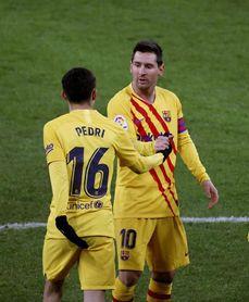 """Pedri: """"Nunca había marcado un gol de cabeza en mi vida"""""""
