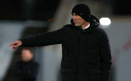 Zinedine Zidane conocerá en breve el resultado de la PCR.