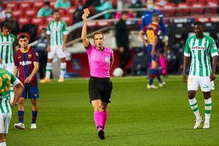 Cuadra Fernández reemplaza a Figueroa Vázquez en el Valladolid-Valencia