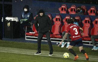 Zidane: ´No ha sido un partido de fútbol´.