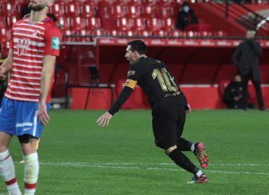 Filomena y el acelerón de Messi