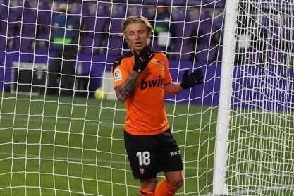 0-1.El Valencia se reencuentra con la victoria en Zorrilla