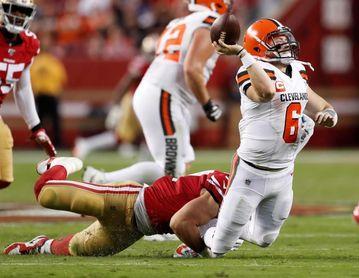 37-46. Mayfield y Browns sorprenden a Steelers y jugarán ante Chiefs