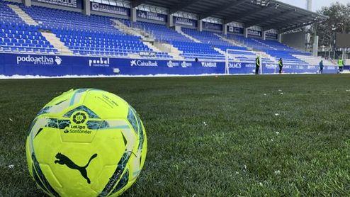 El Huesca 'desafía' a Pellegrini y presume de campo