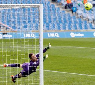 "Remiro espera tutear a un Barcelona que está ""en el mejor momento"""
