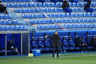 Pablo Machín deja de ser entrenador del Alavés