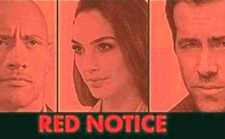 Red Notice, en principio producida para cines, es uno de los estrenos de Netflix.