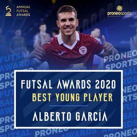 El sevillano Alberto García, candidato a mejor jugador joven del mundo