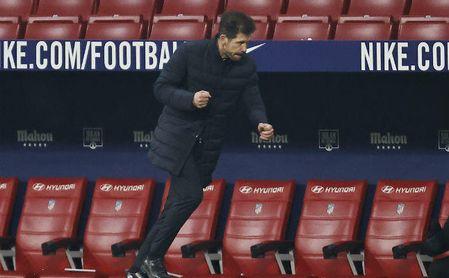 """Simeone ve al Sevilla con """"muchas opciones de pelear por la Liga""""."""