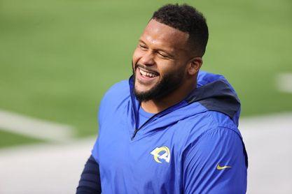 Aaron Donald no quiere perderse el duelo de Rams contra Packers