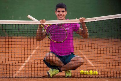 Alcaraz debutará en un Grand Slam 13 días más joven que Federer