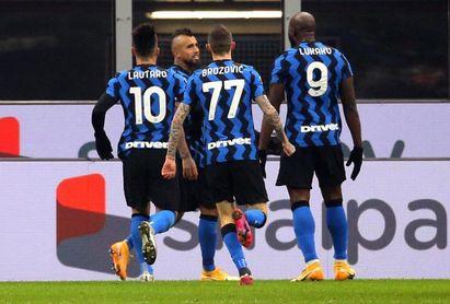 """El Inter, con un gol del """"ex"""" Vidal, desnuda al Juventus"""
