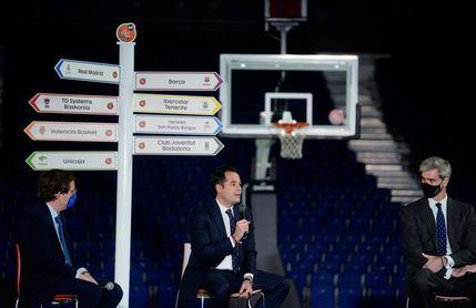 Almeida y Aguado apoyan la disputa de la Copa del Rey de baloncesto en Madrid