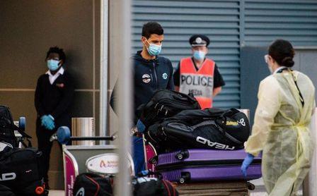 Australia deniega a Djokovic sus peticiones sobre la cuarentena de tenistas.