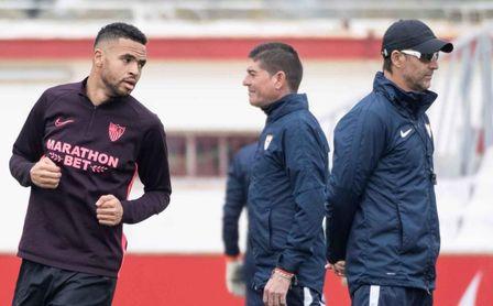Lopetegui, molesto con el 'caso En-Nesyri', valora el margen de mejora del Sevilla