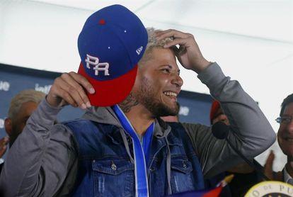 Yadier Molina se muestra complacido con su regreso a la Liga de Béisbol de Puerto Rico