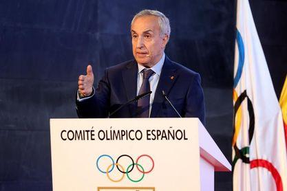 """Blanco anima a los deportistas a levantarse con """"optimismo"""" por Tokio"""