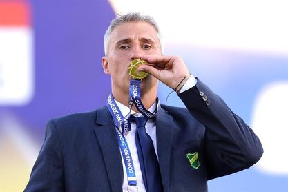 """Crespo, entrenador de Defensa y Justicia : """"Va a ser una final muy recordada"""""""