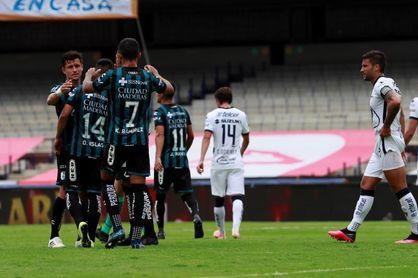2-0. El Querétaro vence a los Pumas UNAM y sube al quinto lugar del Clausura