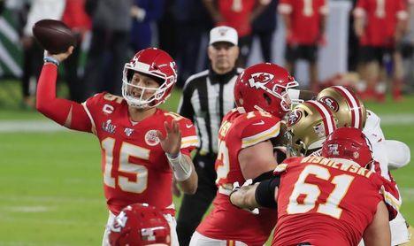 38-24. Mahomes pone a los Chiefs en la Super Bowl LV que jugarán contra los Buccaneers