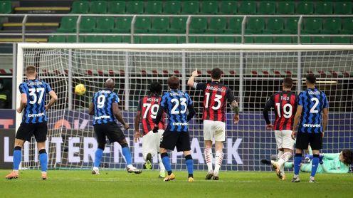 Eriksen hunde al Milan en el 97 y mete al Inter en semifinales