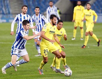 El Villarreal perdió en las últimas dos visitas de la Real Sociedad