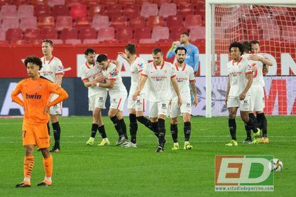 El Sevilla FC festeja su partido número 30 en el mejor momento de la temporada.