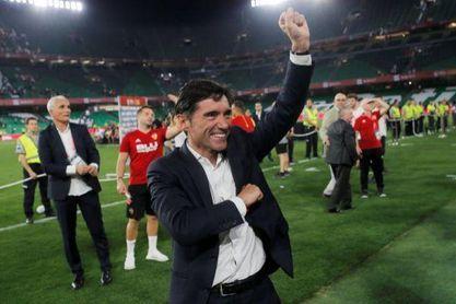 Marcelino vuelve al estadio del Betis, el lugar donde ganó el primer título de su carrera