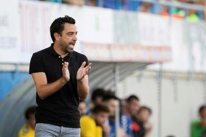 Xavi Hernández, mejor entrenador del mes de enero