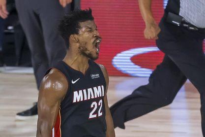 105-104. Butler hace valer su vuelta y el Heat ponen fin a su racha perdedora