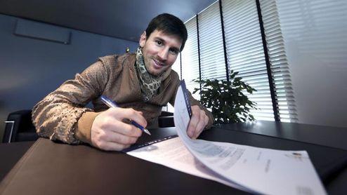 El Barcelona niega que haya filtrado el contrato de Messi y demandará a 'El Mundo'