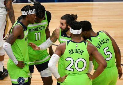 109-104. Beasley y Edwards detienen ante los Cavaliers la mala racha de Timberwolves