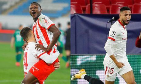 Sadiq y En-Nesyri son los delanteros de moda en Segunda y Primera, respectivamente.
