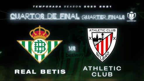Horario y dónde ver el Betis-Athletic de Copa por televisión y 'on-line'