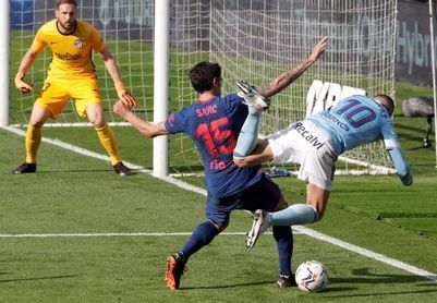 El Celta no gana a domicilio al Atlético en Liga desde 2007