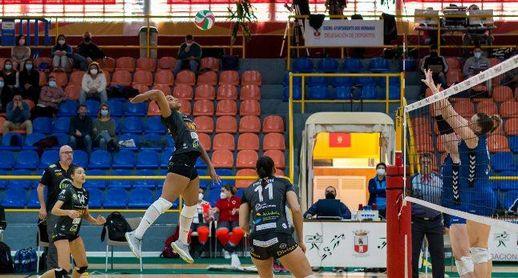 El Cajasol Vóley Dos Hermanas cae en Los Montecillos ante el Menorca por 0-3
