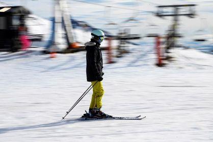 Un estudio minimiza los riesgos de contagio de COVID en las estaciones de esquí