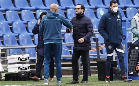"Bordalás: ""Rakitic y 'Papu' Gómez dan un plus al Sevilla FC""."