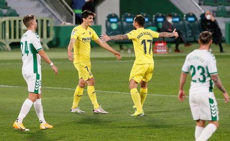 2-2. Carrillo y Boyé neutralizan la pegada de Gerard Moreno