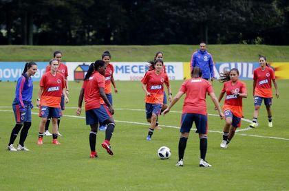 Jugadoras de selección colombiana inconformes con corta duración de la Liga