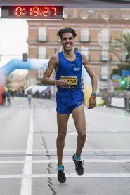 """Mohamed Katir: """"Quiero vivir del atletismo y creo que va a ser posible""""."""