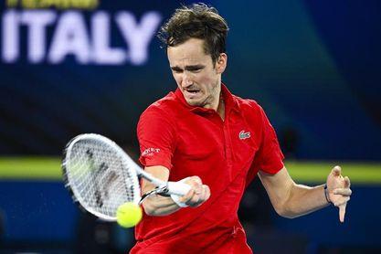 Rusia pasa por encima de Italia en la final para levantar su primera Copa ATP