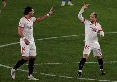 El Sevilla marcó 3 goles en cada uno de sus últimos 4 partidos en el Pizjuán