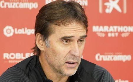"""Lopetegui: Navas, Koundé y el Barça de Koeman con """"el mejor del mundo, Messi"""""""