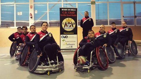 El CAAD Sevilla Quad Rugby inicia la Liga Nacional en Valencia el próximo fin de semana