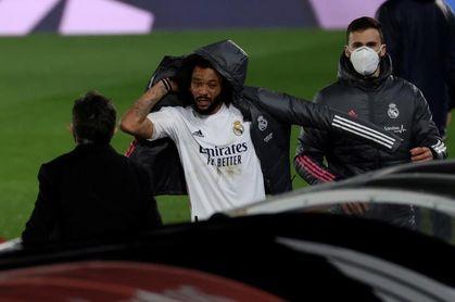 El sistema de Zidane ensalza a un Marcelo que se marcha tocado